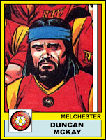 Duncan McKay - Melchester Rovers