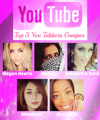 ... TOP 5 CHICAS GUAPAS DE YOU TUBE