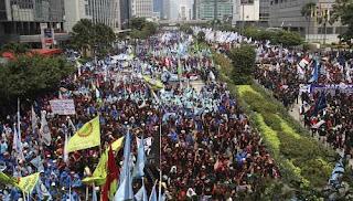 Serikat Pekerja Indonesia Kspi Bersama Forum Buruh Dki Jakarta