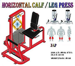 Horizontal Calf Red