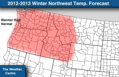 The Weather Centre: Official 2012-2013 Winter Forecast: Northwest