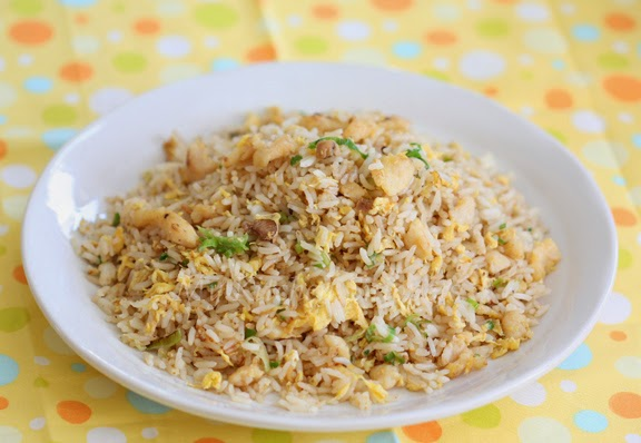 My kitchen snippets salted fish and chicken fried rice for Fish fried rice
