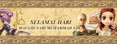 Gambar  Indah Ucapan Maulid Nabi Muhammad SAW 2014