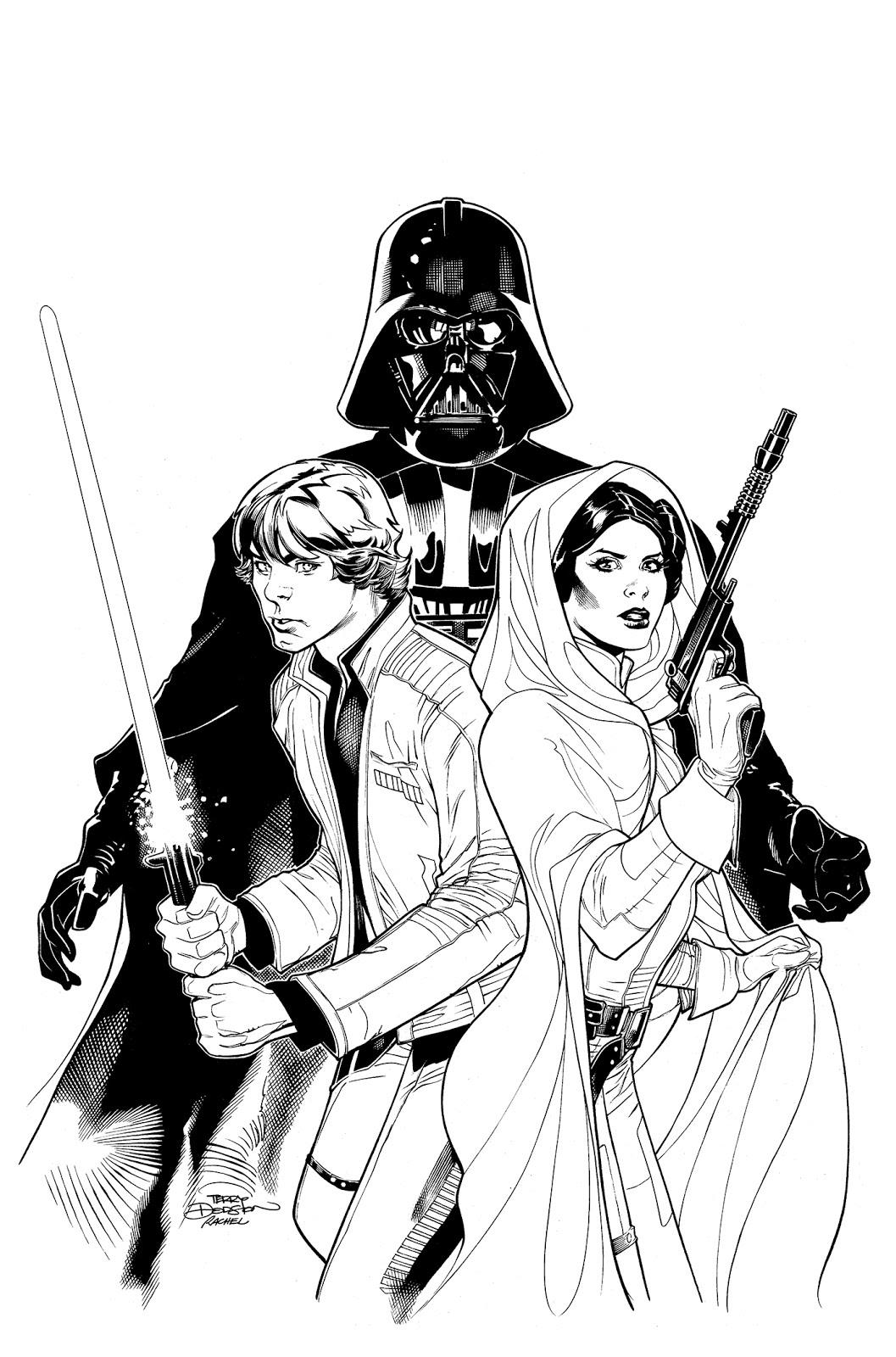 The Bombshellter: Star Wars: Vader Down #1 CBLDF Variant ...