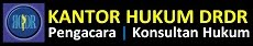 Kantor Hukum DRDR | Legal Consultants | Advocates | Indonesia