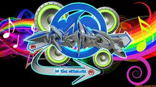 3D Graffiti Music Full Color Wallpaper