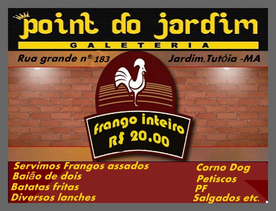 Point do Jardim Galeteria