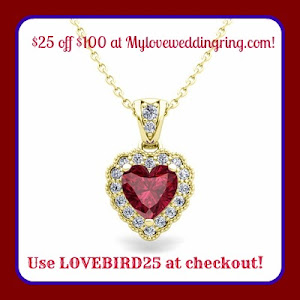 $25 off $100 at My Love Wedding Ring!