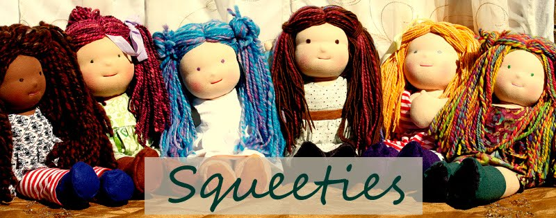 Squeeties Waldorf Dolls