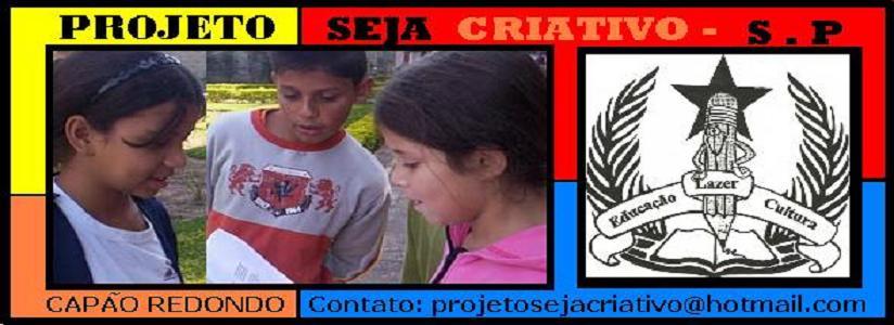 Projeto Seja Criativo