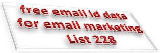 free email id database download | free email id data for email marketing