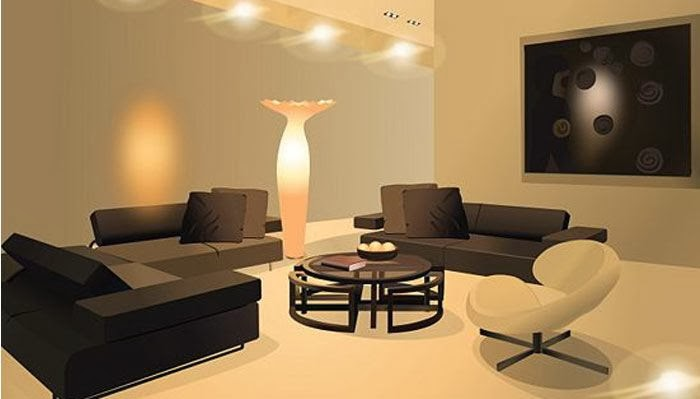 Modern Wall Lamps For Living Room : 10 MODERN LIVING ROOM LIGHTING IDEAS 2014 PART 5