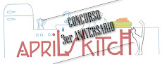 CONCURSO 3er ANIVERSARIO APRIL'S KITCH