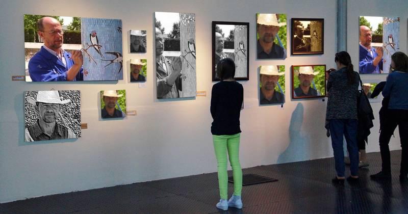 Pasión por el Mosaico,Exposición del 9 al 30 de  Abril - 2017
