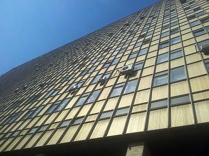 Главный Лабораторно-клинический корпус - Государственная премия РСФСР по архитектуре 1972 г.
