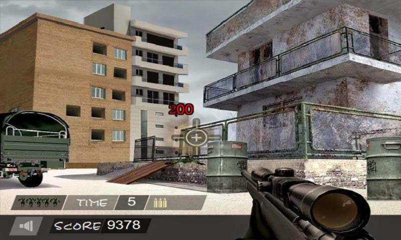 تحميل لعبة القناص Sniper Hero للاندرويد