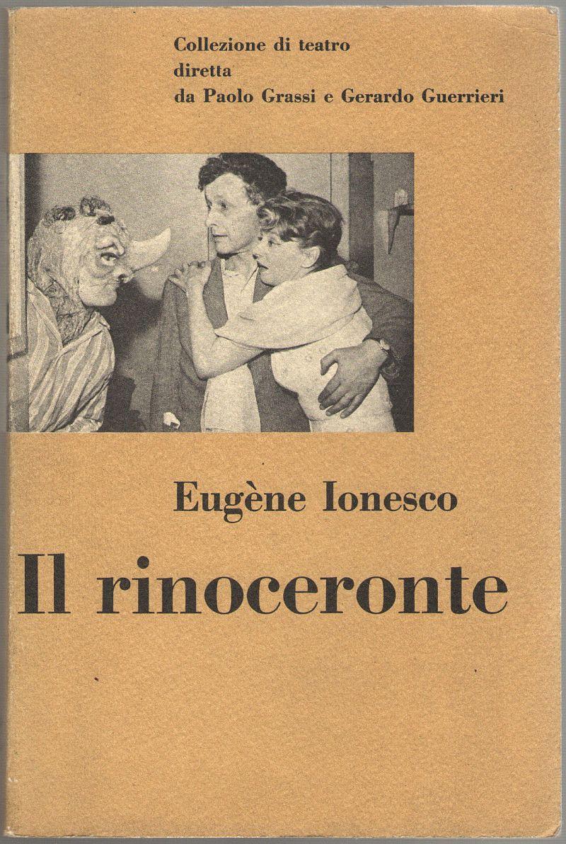 il rinoceronte einaudi 1960 italia italy