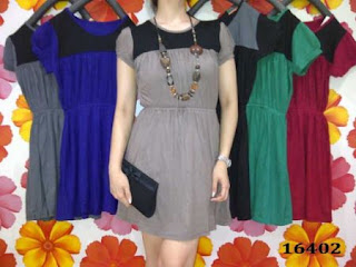 dress-korea-combinasi
