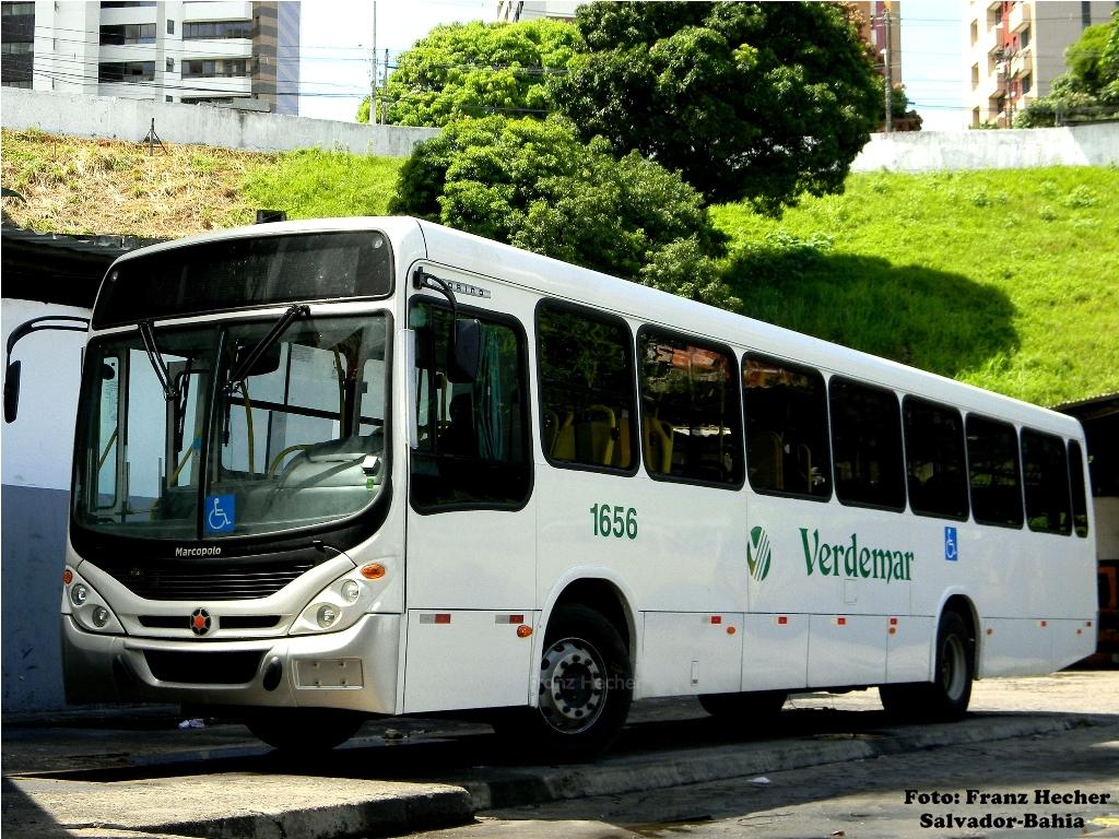Novo Ônibus da Verdemar, por Franz Hecher