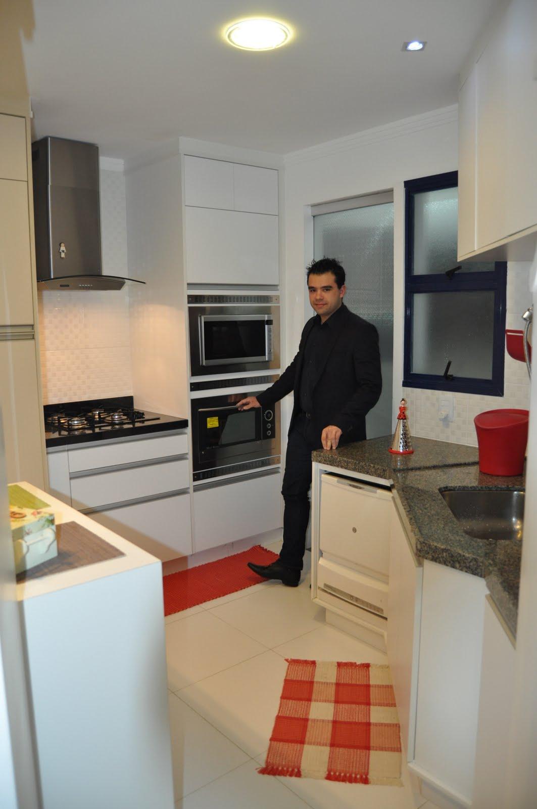Apartamento de 3 dormitórios em Bauru/SP Designer de Interiores  #803628 1063x1600 Armario Banheiro De Alvenaria