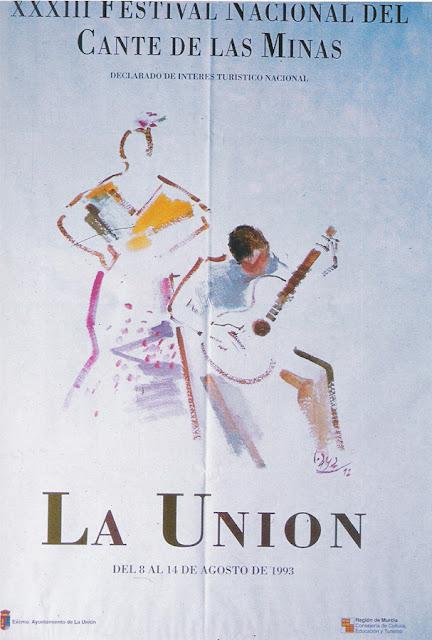 Cartel del Cante de las Minas de 1993