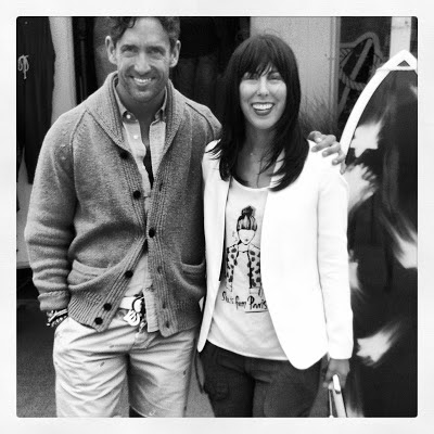 TRENT WISEHART creative director at tommy hilfiger with Jessica Moazami aka Fashion Junkie