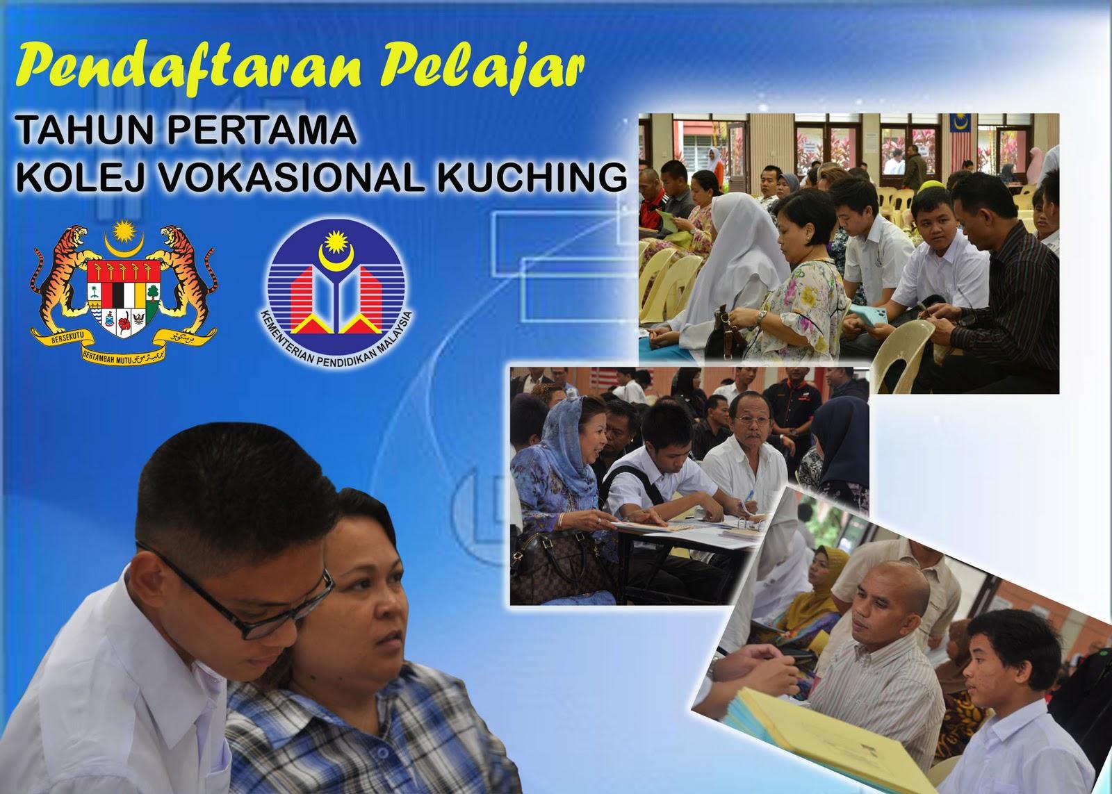 Buletin kolej vokasional kuching pendaftaran pelajar for Home wallpaper kuching