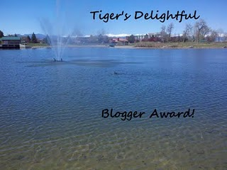 Tiger's Delightful blogger award