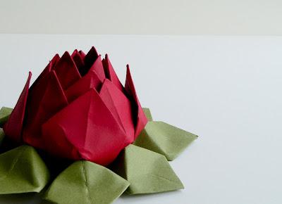 Lotus Flower Origami Image
