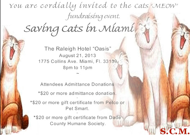 'Saving Cat's Event in Miami (Invitation)