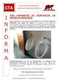LOS URINARIOS DE MONTEALTO YA ESTÁN EN SERVICIO