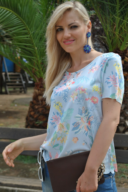 mariafelicia magno fashion blogger colorblock by felym orecchini pendenti azzurri orecchini happiness boutiqe orecchini estate 2015 come abbinare gli orecchini pendenti come abbinare gli orecchini azzurri summer earrings blue earrings how to wear blue earrings