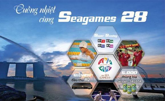 Cuồng nhiệt cùng Sea Games 28