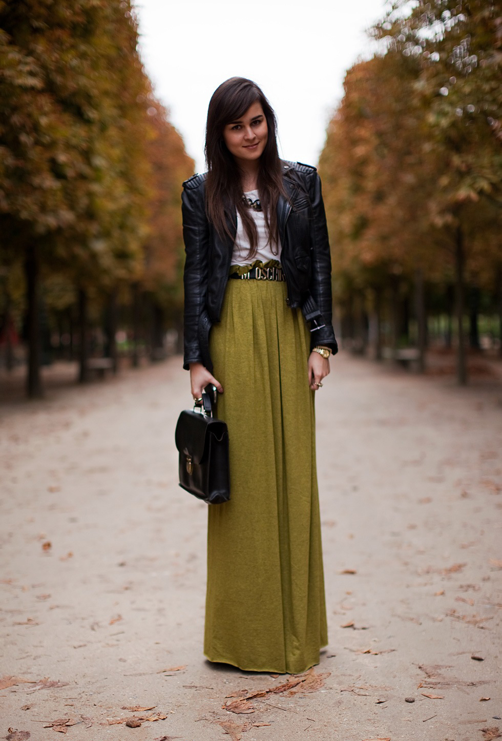 Wonderful The Printed And Lengthy Maxiskirt But Plain And Simple Maxi Skirt