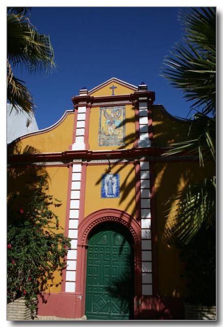 Fachada de la Hacienda de San Miguel de Montelirio
