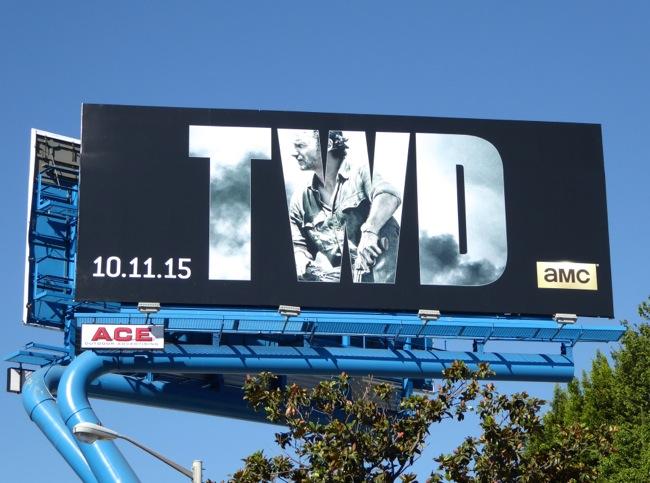Walking Dead season 6 billboard