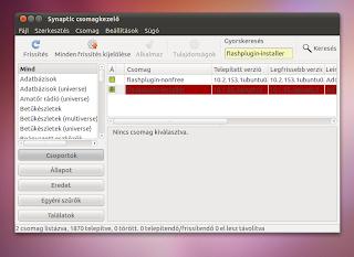 Ubuntu Linux 10.10 flash megoldás