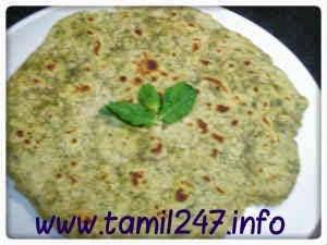 Paratha cooking recipe, Tamil cooking recipes
