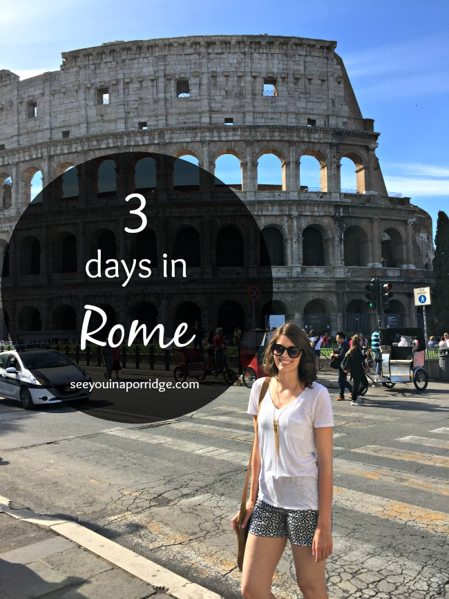 When (we were) in Rome - Our trip recap