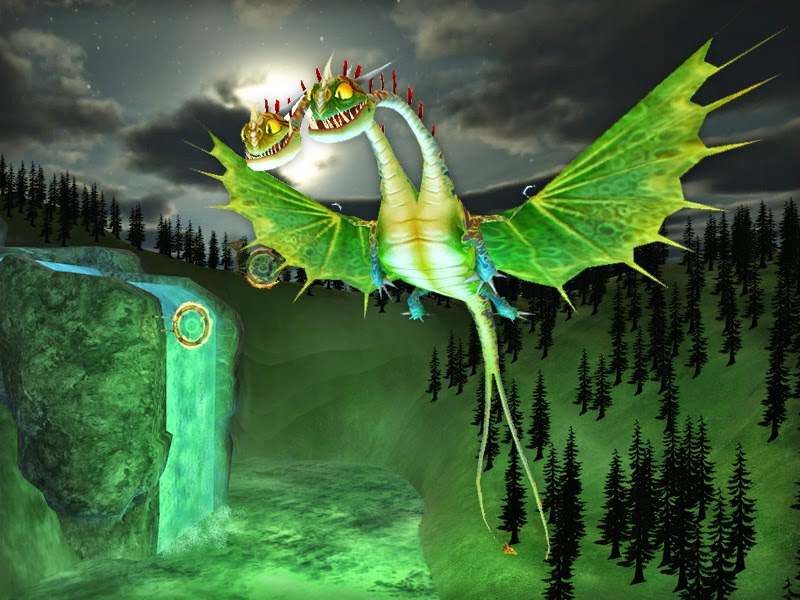 how to train your dragon website game