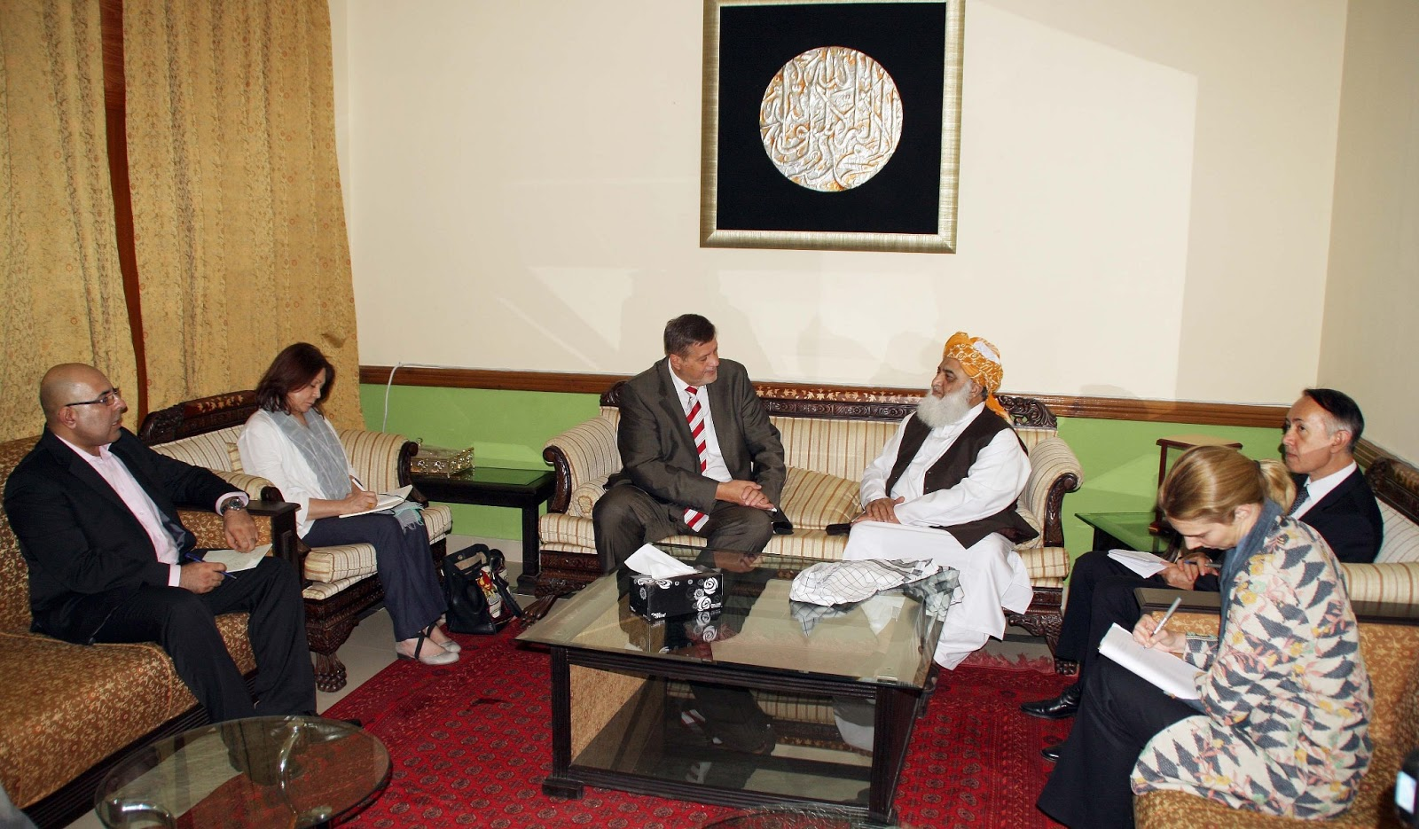 akram abid un envoy for afghanistan meets maulana fazalur rahman. Black Bedroom Furniture Sets. Home Design Ideas