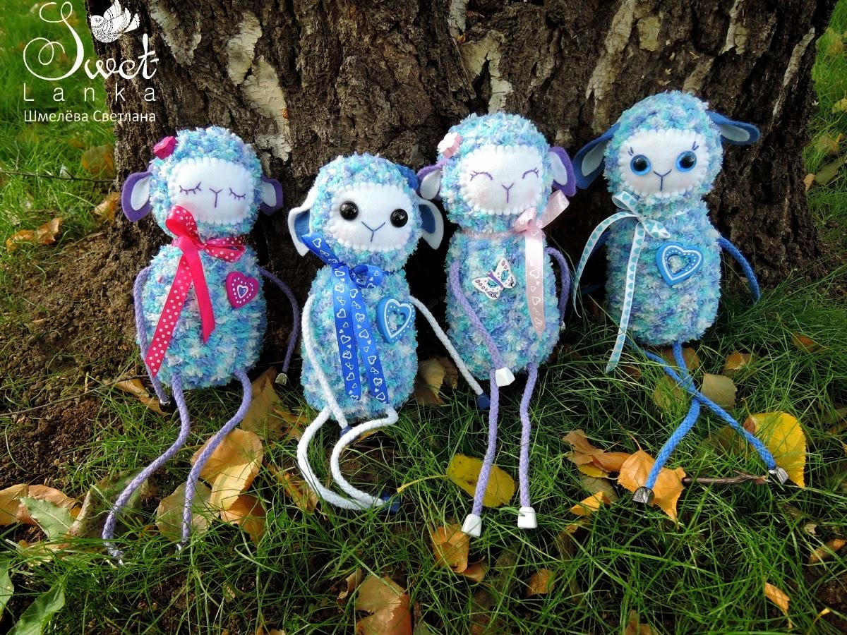 синие овечки - символ наступающего года