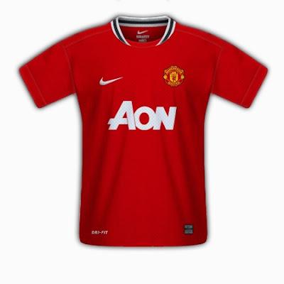 Nueva Camiseta Manchester United 2011