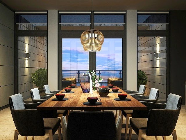 Luxury Dining Room Designs picture