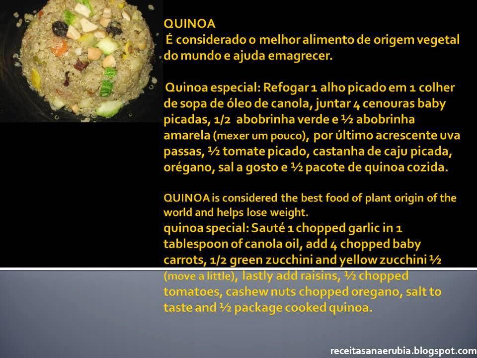 Quinoa especial