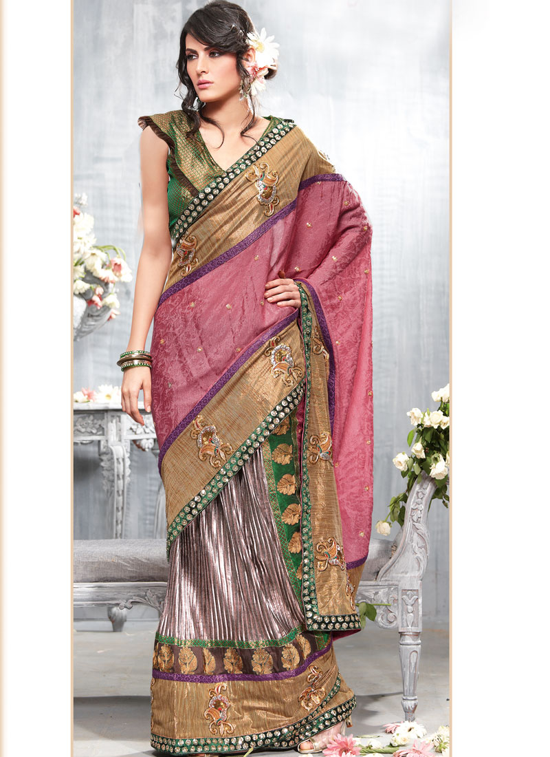 Bridal sarees indian bridal sarees bridal sarees for parties - Party Wear Sarees