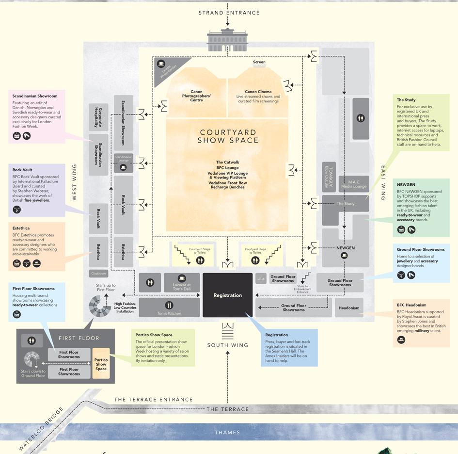 Floor Plan Of Somerset House