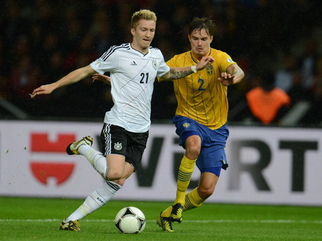 Hasil dan Highlights Pertandingan Jerman vs Swedia 4-4, 17 Okt 2012