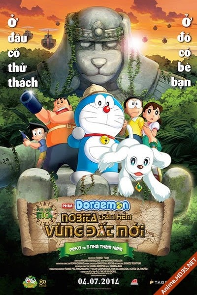 Doraemon The Movie - Shin Nobita No Daimakyo - Peko To 5-nin No Tankentai