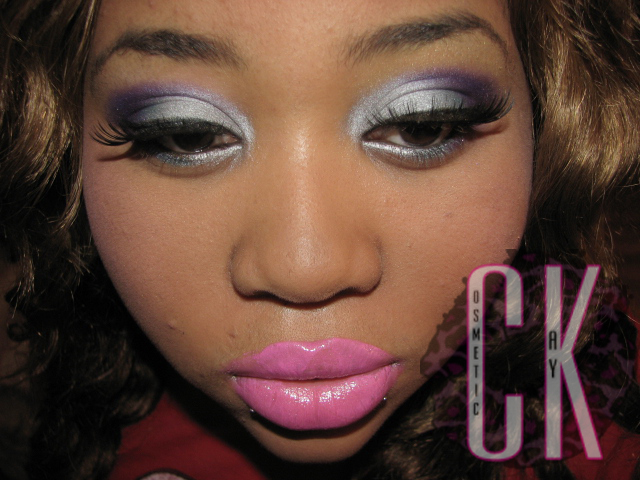 nicki minaj super bass makeup. nicki minaj super bass makeup